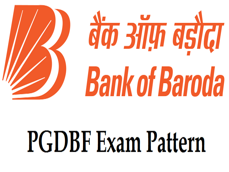 bank of baroda pgdbf exam pattern