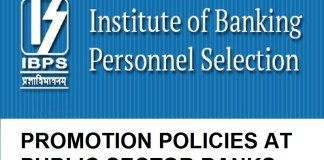 Promotion policies public Sector Banks