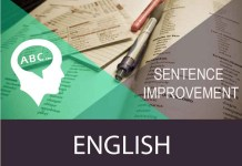 sentence improvement