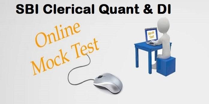 sbi clerical quant mock test