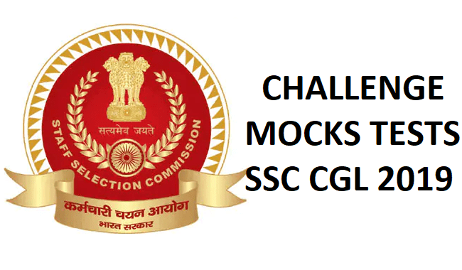 Mock Test ssc cgl 2019