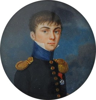 Portrait d'un aide de camp d'un général de brigade, époque 1er Empire - Photo Bertrand Malvaux