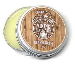 كريم لتكثيف شعر الذقن برائحة الأرز والصنوبر من Viking Revolution