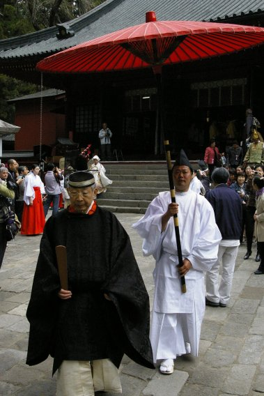 Nikko Matsuri - Priester