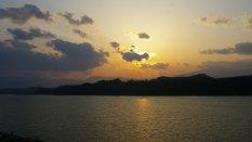 Tsunagi Onsen - Sonnenuntergang