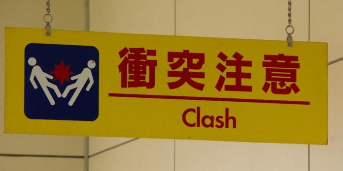 Clash-Gefahr