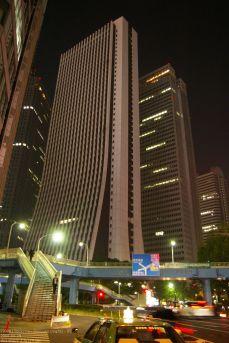 Sompo Japan Building bei Nacht, Yoshikazu Uchida