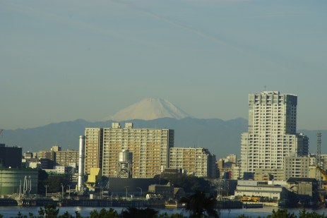 Mt. Fuji, View from Tokyo