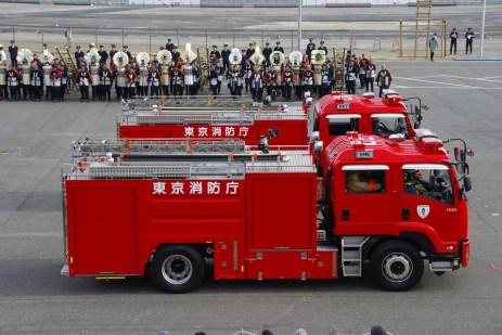 Dezome Shiki 2013, Fahrzeugparade