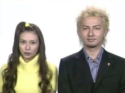 ISSAと柴咲コウ