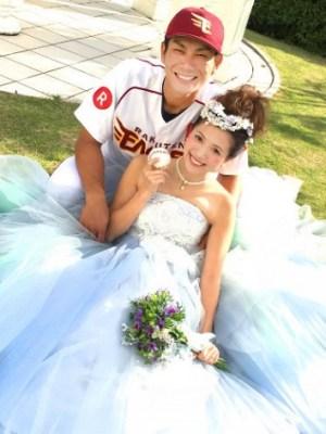 岡島豪郎が結婚