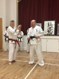 Richard Parker Black Belt Promotion