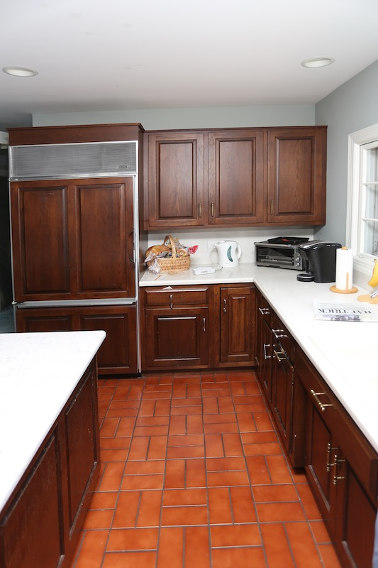 Before and After  Check Out an Incredible Kitchen Remodel in     Cabinet Door styles