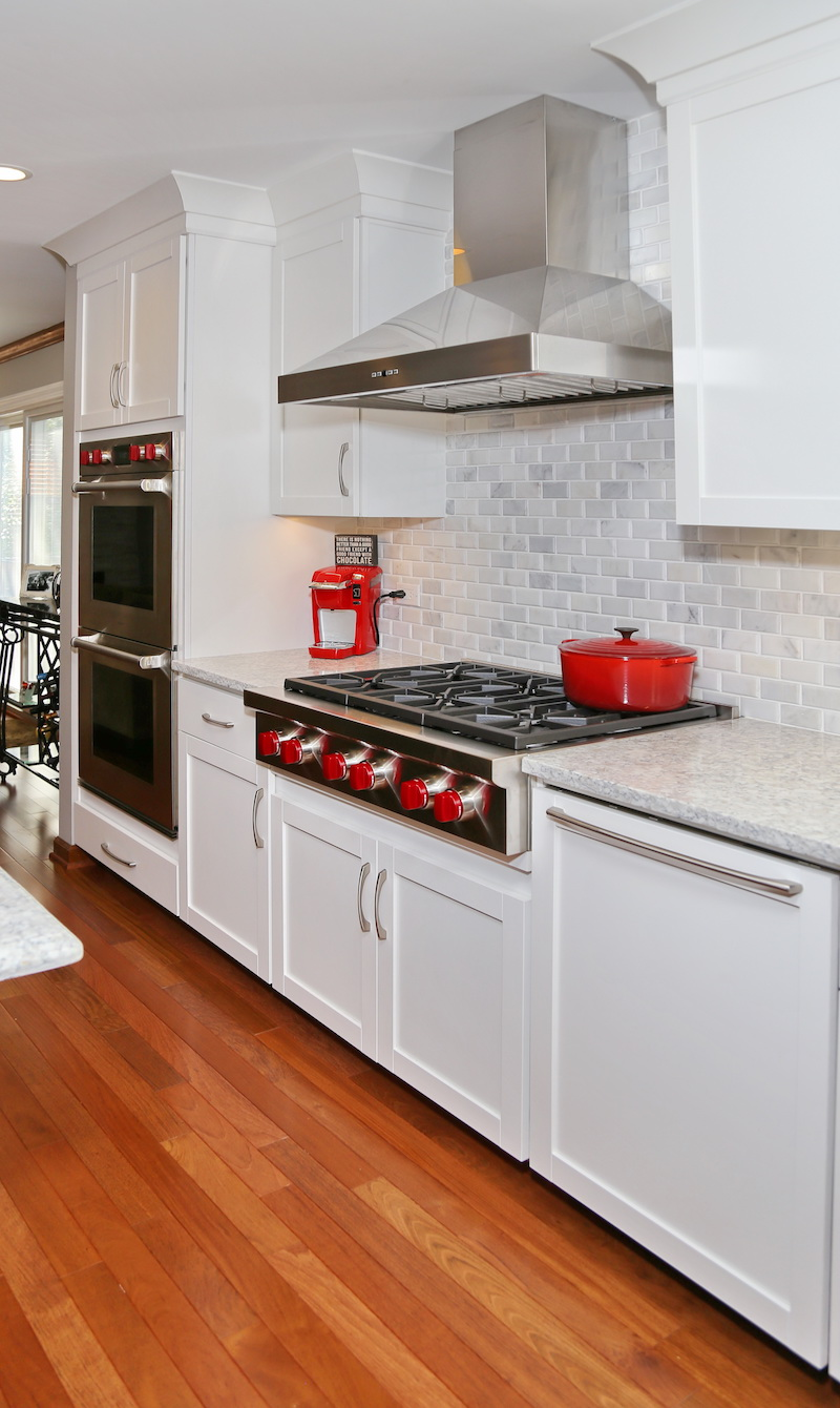 before and after: major transformation in a lake zurich kitchen