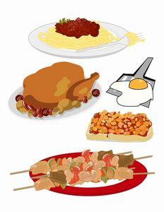 高タンパク質の食べ物