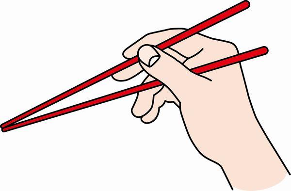 箸の持ち方