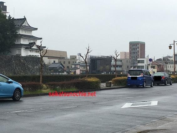名古屋城お堀北側
