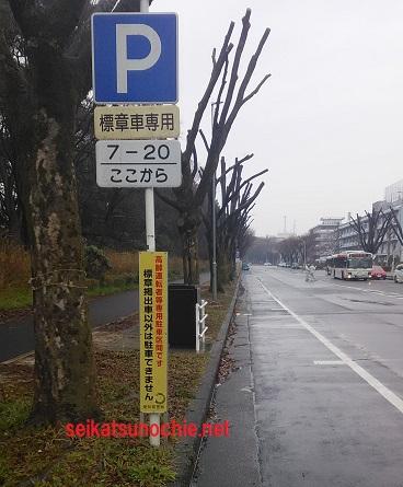 愛知県庁西庁舎南側道路の東から西