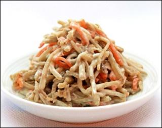 ごぼうサラダ1