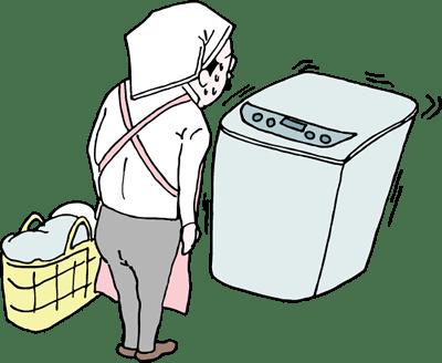 洗濯機の異常音