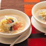 白菜の3色スープ