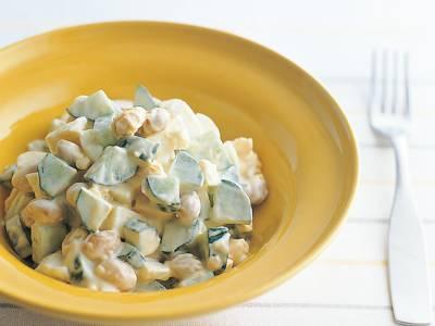 大豆ときゅうりサラダ