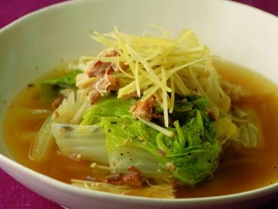 NHK白菜との煮物