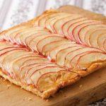 りんごの薄焼きパイ