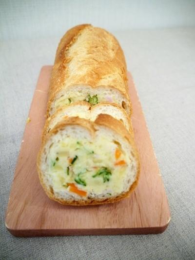 ポテトサラダ入り Eレシピ