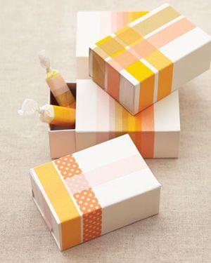 オレンジマスキングテープ