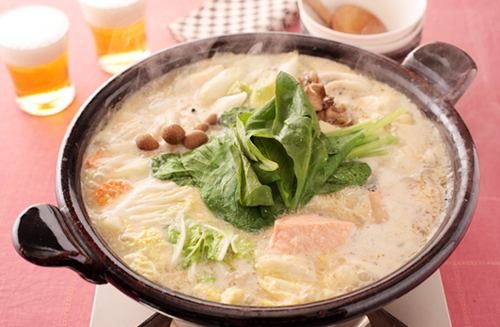 鮭の酒粕鍋