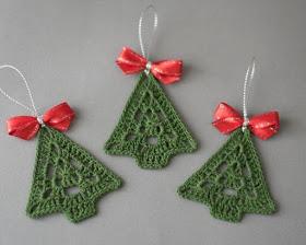 クリスマスツリー2編み図付き