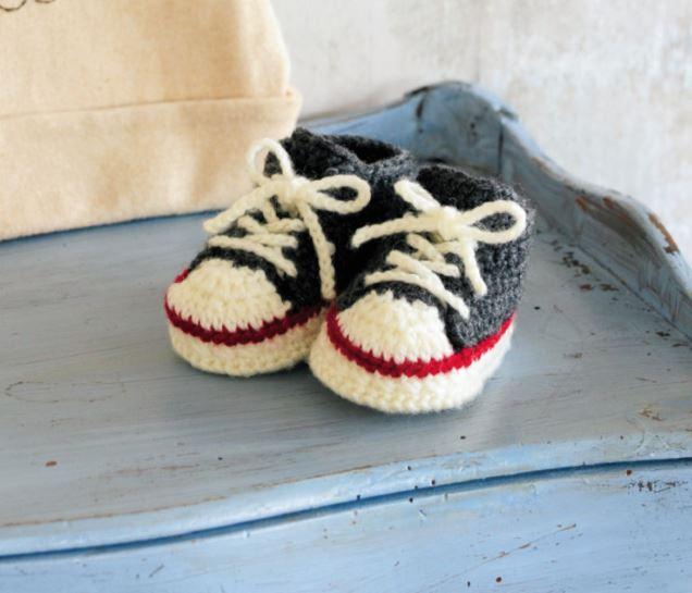 並太毛糸で編む