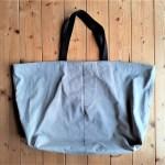 綿パンからトートバッグを作ってみました♪縫いやすくて丈夫で大容量で大成功☺