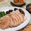 むね肉で鶏ロース♪さっと焼いて煮汁に漬けておくだけですごくおいしい!漬け汁も応用可能☺