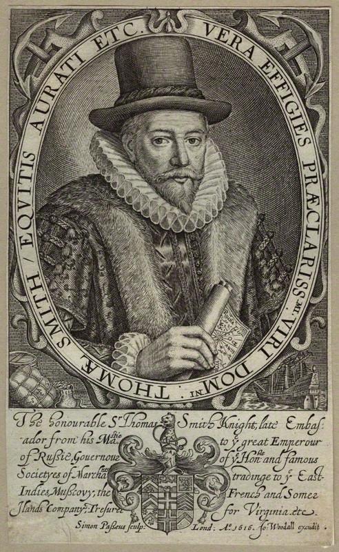 イギリス東インド会社代表トーマス・スミス肖像画