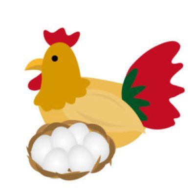 卵が先かニワトリが先か