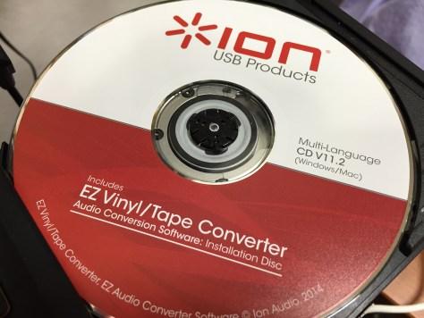EZ Vinyl/Tape Converter cd