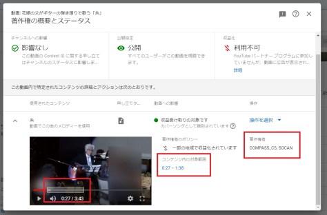 YouTube著作権