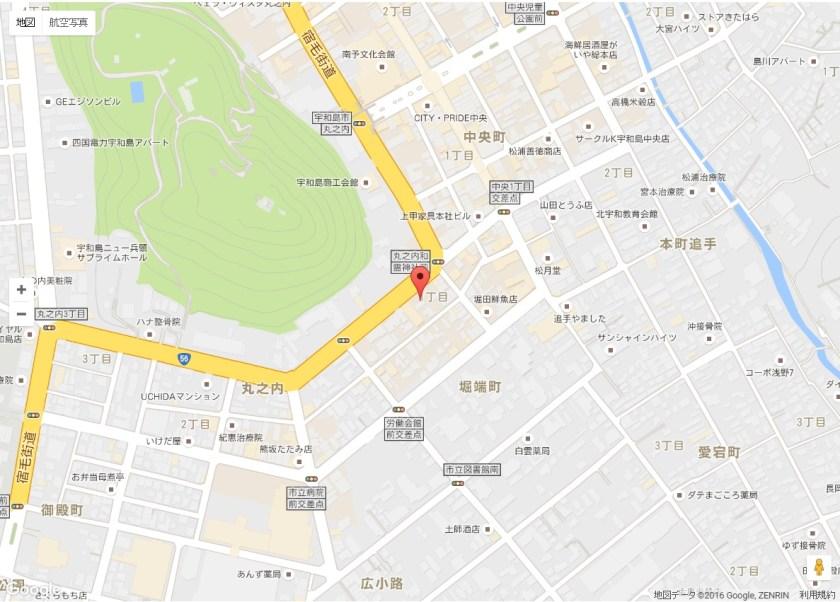 リージェントホテル地図