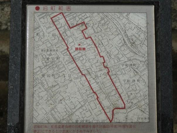 名称碑 範囲地図