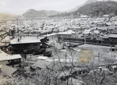 昭和30年頃の宇和島機関区