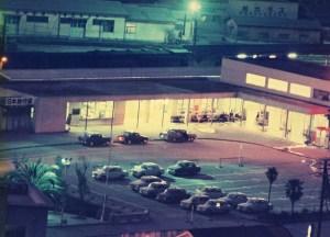 宇和島駅夜景 左より