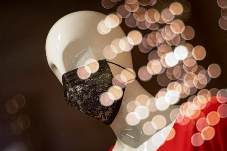 Schaufensterpuppe im Designer Sinfonie Modecafé, Hannover. Foto: Kai Grüber