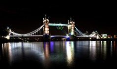 The Tower Bridge at night