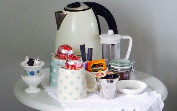 Tea, coffee and treats