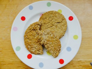 finished oatcakes