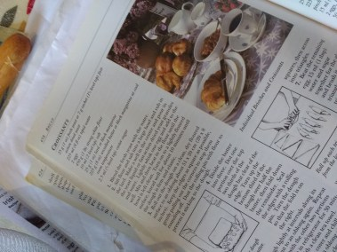 recipe book inside