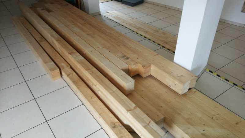 Holz für die Juku