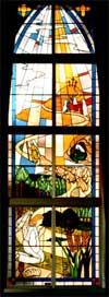 Mallory Hall window